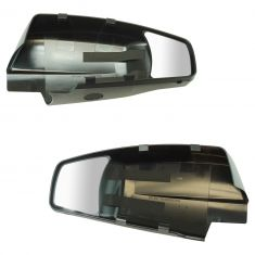 14-17 Silverado, Sierra 1500; 15-17 2500, 3500 Tow Mirror Extension Mirror PAIR (Snap on)