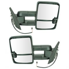 07-14 GM FS SUV, Man, Smk LED TS & SML, High Pwr LED SPL, Texted UPGRADE Tow Mirror PR (TR)