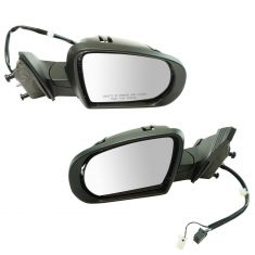 14-17 Jeep Cherokee Power, Heated, w/Turn Signal & Puddle Light PTM Mirror Pair