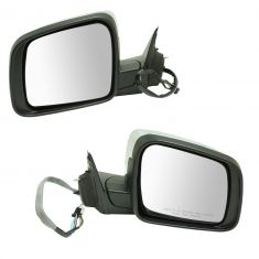 14-16 Jeep Grand Cherokee Power Folding, Heated, Memory, LED TS on Hsg, Pud L, Chrme Cap Mirror PAIR