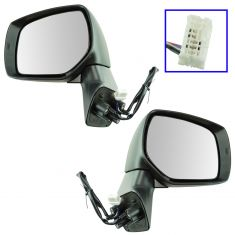 14-16 Subaru Forester Mirror Power Heated Smooth PTM Pair