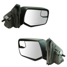 08-12 Ford Escape; 08-11 Mercury Mariner Power Textured (w/Spotter Glass) Mirror Pair
