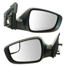 14-16 Hyundai Elantra Sedan Power, Heated w/Turn Signal & Spotter Glass PTM Mirror Pair