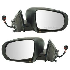 14-17 Jeep Cherokee Power Textured Mirror Pair