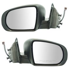 14-17 Jeep Cherokee Power, Heated Textured Mirror Pair