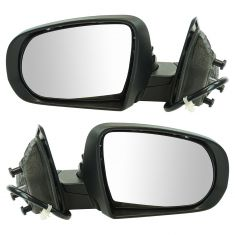 14-17 Jeep Cherokee Power, Heated w/Memory, Turn Signal & Puddle Light PTM Mirror Pair