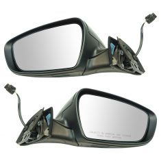 14-16 Kia Forte Sedan, Forte 5 Manual Folding, Power, Heated PTM Mirror Pair