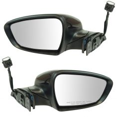 14-16 Kia Forte Sedan, Forte 5 Power Folding, Power, Heated w/Turn Signal PTM Mirror Pair