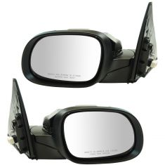 14-16 Kia Soul Power Folding, Power, Heated w/Turn Signal PTM Mirror Pair