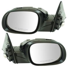 14-16 Kia Soul Manual Folding, Power, Heated w/Turn Signal PTM Mirror Pair