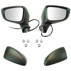 14-16 Mazda 6 Power, Heated w/Turn Signal PTM Mirror Pair