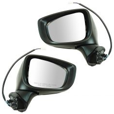 14-16 Mazda Mazda 3 Power w/Turn Signal PTM Mirror Pair