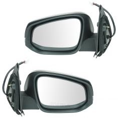 16-17 Toyota Tacoma Power, Heated (w/Housing Mounted Turn Signal) w/PTM Cap Mirror Pair
