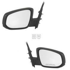 16-17 Toyota Tacoma Power, Heated w/PTM Cap Mirror Pair