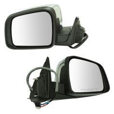 14-16 Grand Cherokee Pwr Fld, Heated, w/BSM, Memory, LED TS on Hsg, Pud L, Chrme Cap Mirror Pair