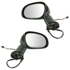 15-16 Dodge Challenger Power, Heated, Manual Folding PTM Mirror Pair