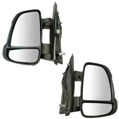 14-17 Ram Promaster Van 1500, 2500, 3500 (w/Temp Sensor) w/Signal Manual Textured Mirror PAIR