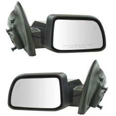 11(frm 2/8/11)-14 Ford Edge Power, Heated (w/Puddle Light & Blind Spot Alert) w/PTM Cap Mirror Pair
