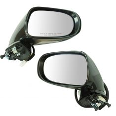 09-13 Lexus IS250, IS350 Sedan Power, Heated (w/Memory, Puddle & Turn Signal Light) PTM Mirror Pair