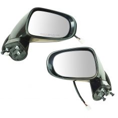 10-12 Lexus ES350 Power, Heated (w/Memory, Puddle & Turn Signal Light) PTM Mirror Pair