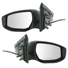 13-16 Nissan Sentra Power w/Turn Signal PTM Mirror Pair