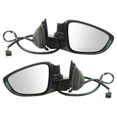 2012 VW Passat Power, Heated w/Turn Signal PTM Mirror Pair