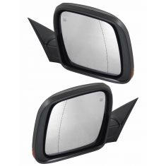 14-17 Grand Cherokee Power Folding, Power, Heated, (Hsg Mtd LED TS) w/Aspheric Glass PTM Mirror Pair