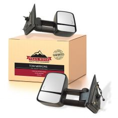 14-16 Silverado, Sierra 1500 Power, Heated, Dual Arm, w/Chevron Signal Mirror PAIR (TR)