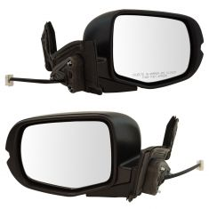 17-18 Ridgeline Power Heated w/PTM Cap Mirror PAIR