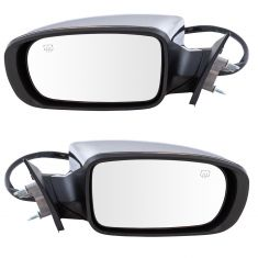 11-16 Chrysler 300 Sedan Power Heated Memory Fold Chrome Mirror PAIR