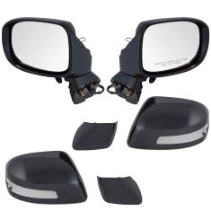 12-13 Honda Civic 4dr Power Heated Signal PTM Mirror PAIR
