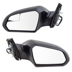 15-17 Hyundai Sonata Power Heated w/Spotter Glass PTM Mirror PAIR