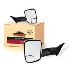 16-18 Toyota Tacoma Power, Heated w/TS Upgrade Flip Up Style w/Chrome Performance Tow Mirror PAIR