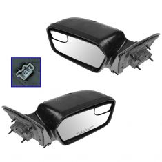 11-12 Ford Fusion, Fusion Hybrid; 11 Mercury Milan Power (w/o Cap) Mirror Pair (Ford)