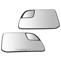 11 (from 2/28/11)-14 Edge; 11-14 MKX Power Heated Mirror Glass w/Spotter Glass & Backing PAIR (Ford)