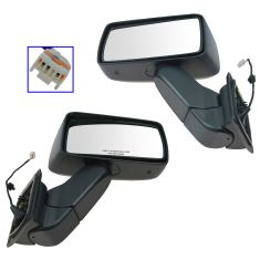 07 (from 1/14/07)-10 Hummer H3; 09-10 H3T Textured Power Mirror PAIR (GM)