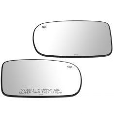 11-14 Chrys 200, Charger; 12-14 300, Challenger Power, Htd, Man Fold Mirror Glass w/Backing Pair(MP)