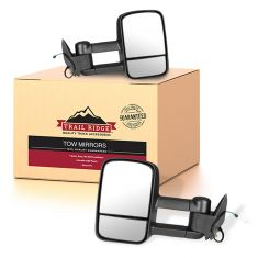 88-01 Chevy GMC C/K Pickup SUV Power Upgrade Tow Mirror Pair (Trail Ridge)