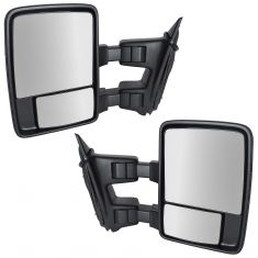 02-07 Ford SD PU Power Heat Turn Clrnce Light Text Upgrade Tow Mirror Pair (TR)