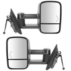 07-13 Silverado Sierra Power Heated Chevron Signal Mirror PAIR (Trail Ridge)