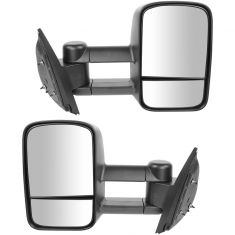 07-11 Chevy GMC Silverado Sierra Manual Towing Mirror PAIR (Trail Ridge)