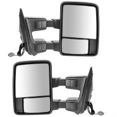 11-12 Ford SD PU Power Heated Signal Clearance Textured Black (w/RH Temp) Mirror PAIR (Trail Ridge)