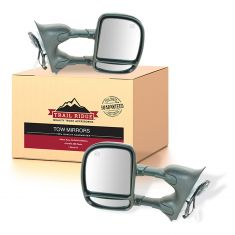 99-07 Ford Super Duty; 00-04 Excursion Power Heated Towing Mirror PAIR (Trail Ridge)