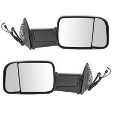 13-15 Ram 1500; 13-14 2500/3500 Power Fold Heated Signal PL LH Temp Text Mirror PAIR (Trail Ridge)