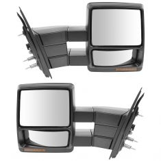 04-06 Ford F150; 06 LT Power Heated Signal PTM/Chrome Towing Mirror PAIR (09 Style) (Trail Ridge)