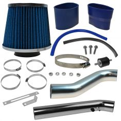 96-98 Honda Civic EX HX Cold Air Intake w/ Blue Filter