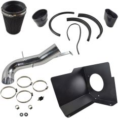 07-08 GM Silverado, Sierra, FS SUV w/ V8 Cold Air Intake w/ Black Filter