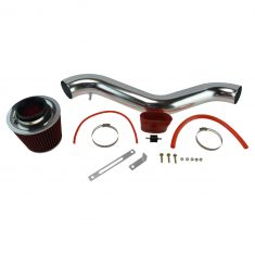 94-97 Accord 2.2L; 92-96 Prelude Short Ram Air Intake w/ Red Filter