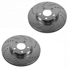 05-10 300; 09-13 Challenger; 06-13 Charger Front Performance Disc Brake Rotor Pair