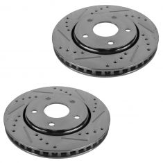 08-13 Town & Country; 09-13 Journey; 09-12 Routan Front Performance Disc Brake Rotor Pair